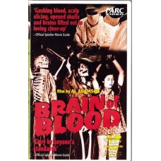 Brain of Blood (VHS)