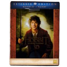 Hobbiten: En Uventet Reise Extended 3D (Blu-ray)