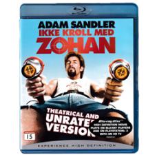 Ikke Krøll Med Zohan (Blu-ray)
