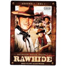 Rawhide Sesong 1 Del 1 (DVD)