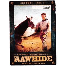 Rawhide Sesong 1 Del 2 (DVD)