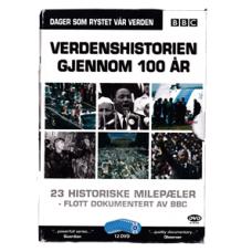 BBC Verdenshistorien Gjennom 100 År (DVD)
