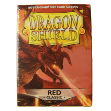 DragonShield Red Classic sleeves