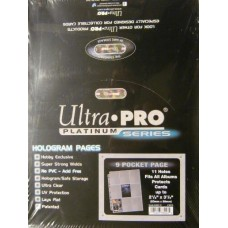 Ultra Pro 9-Pocket Platinum Page Standard