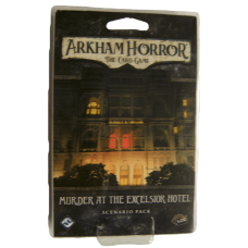 Arkham Horor: The Card Game - Murder At the Excelsior Hotel Mythos Pack
