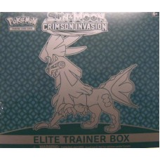 Pokemon: Sun & Moon: Crimson Invasion Elite Trainer Box