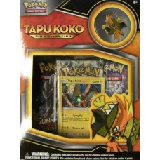 Pokemon: Tapu Koko Pin Collection