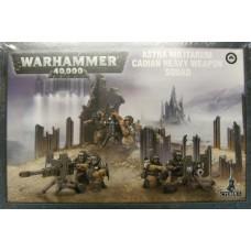 Astra Militarum Heavy Weapon Squad