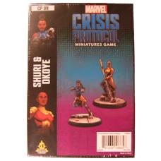 Marvel Crisis Protocol Miniature Game: Okoye & Shuri