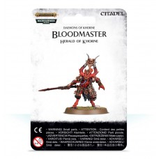 Daemons of Khorne: Bloodmaster, Herald of Khorne