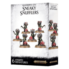 Gloomspite Gitz: Sneaky Snufflers