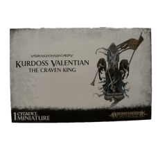 Nighthaunt: Kurdoss Valentian the Craven King