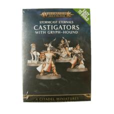 Stormcast Eternals Castigators w/Gryph Hound