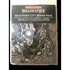 Warhammer Underworld: Shadespire Shattered City Boards