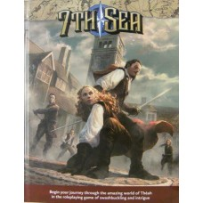 7th Sea Core Rulebook HC