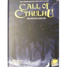 Call of Cthulhu: Keeper Rulebook 7th Edition (HC)