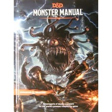 Dungeons & Dragons 5th Ed: Monster Manual (HC)