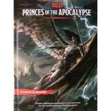 Dungeons & Dragons 5th Ed: Princes of the Apocalypse HC