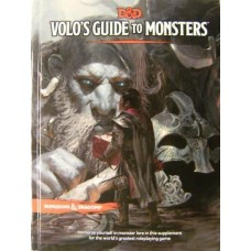 Dungeons & Dragons 5th Ed: Volo's Guide To Monsters (HC)