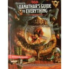 Dungeons & Dragons 5th Ed: Xanathar's Guide To Everything (HC)