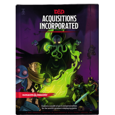 Dungeons & Dragons 5th Ed: Acquisitions Incorporated HC