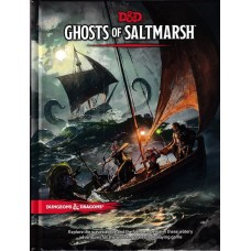 Dungeons & Dragons 5th Ed: Ghosts of Saltmarsh HC