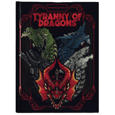 Dungeons & Dragons 5th Ed: Tyranny of Dragons Alternate Cover HC