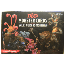 Dungeons & Dragons 5th Ed: Monster Cards: Volo's Guide to Monsters