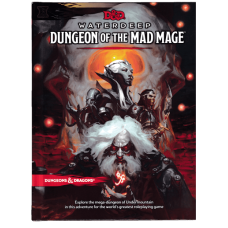 Dungeons & Dragons 5th Ed: Waterdeep Dungeons of the Mad Mage (HC)