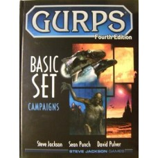 Gurps 4th Edition: Basic Set Campaigns HC