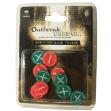 Outbreak: Undead Second Edition: Survivor's Tokens