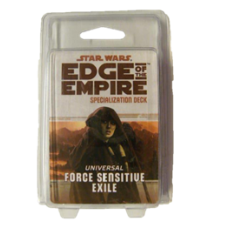 Star Wars: EoE: Force Sensitive Exile Specialization Deck