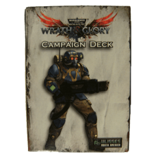 Warhammer 40K: Wrath & Glory: Campaign Deck