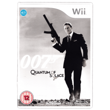 007 Quantum of Solace for Nintendo Wii
