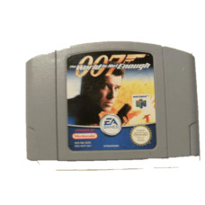 007 World Is Not Enough for Nintendo 64