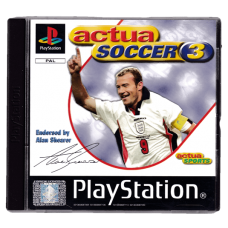Actua Soccer 3 for Playstation 1