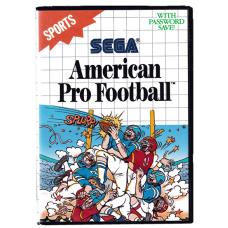 American Pro Football for Sega Master System
