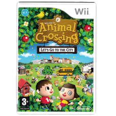 Animal Crossing: Let's Go To The City for Nintendo Wii