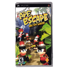 Ape Escape: On The Loose for Playstation Portable