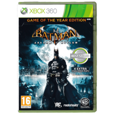 Batman: Arkham Asylum GOTY for Xbox 360