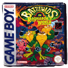 Battletoads In Ragnarok's World for Nintendo Gameboy