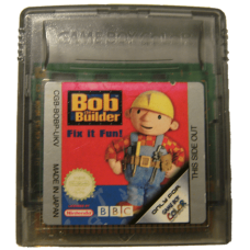 Bob the Builder for Nintendo Gameboy Color