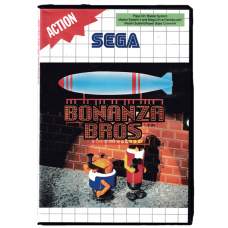 Bonanza Bros for Sega Master System
