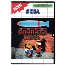 Bonanza Bros for Sega Master System