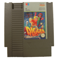 Digger T. Rock: Legend of the Lost City for Nintendo NES A