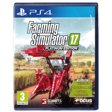 Farming Simulator 17 Platinum Edition for Playstation 4