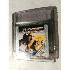 007 The World Is Not Enough for Nintendo Gameboy Color