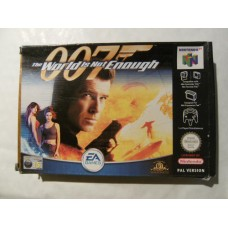 007 The World Is Not Enough for Nintendo 64