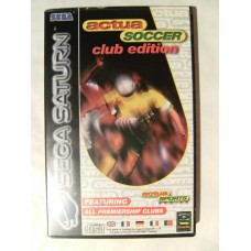 Actua Soccer Club Edition for Sega Saturn