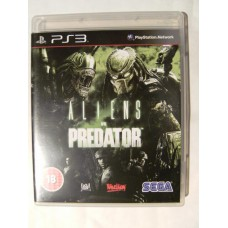 Aliens vs Predator for Playstation 3